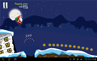 Screenshot of Run Santa Run - Original