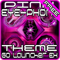 Pink EYE-Phone GO Launcher icon