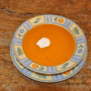 Sweet Potato Chipotle Soup.