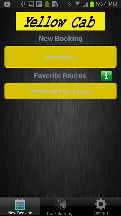 Yellow Cab of Lexington- screenshot