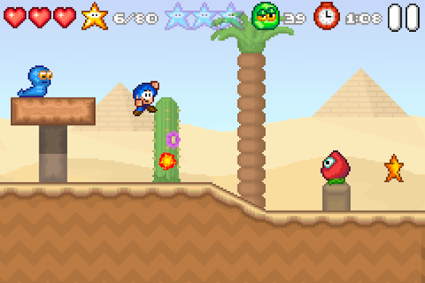 Bloo Kid 2 screenshot
