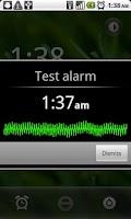 Screenshot of Smarter Alarm
