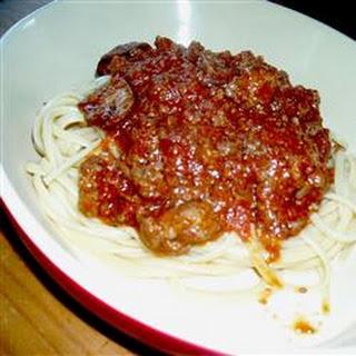 Old Italian Meat Sauce