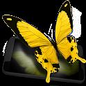 Butterflies 3D live wallpaper icon