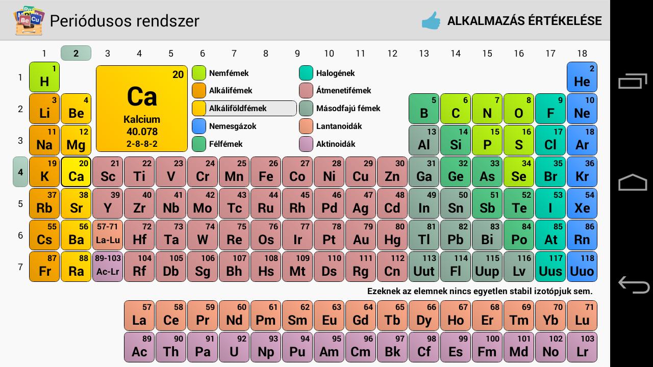 New Periodic Table Calculator Periodic