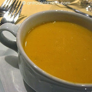 Ginger and Pumpkin Soup.