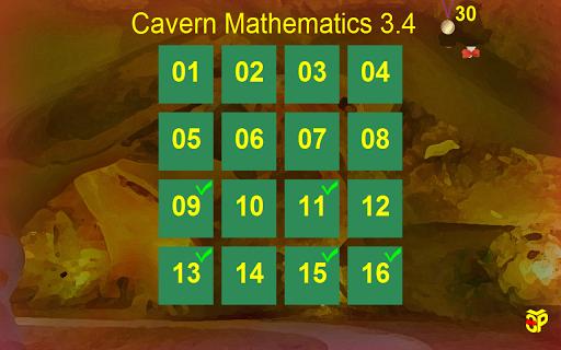 Cavern Math 3.4