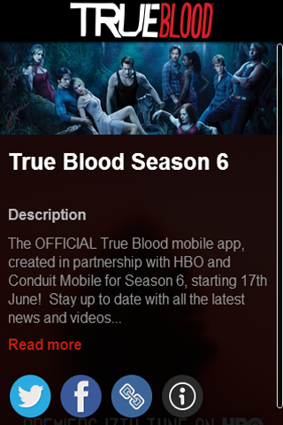 HBO TRUEBLOOD™ SEASON 6 - screenshot