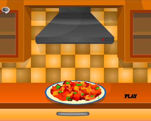 เกมส์ทำอาหาร สูตรไก่เนย