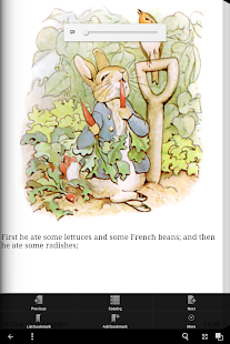Peter Rabbit eBook App- screenshot thumbnail