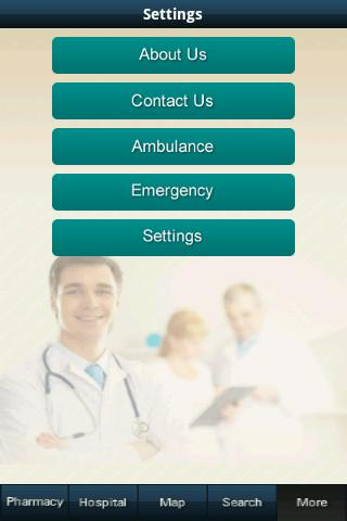 Hospital and pharmacy finder- screenshot