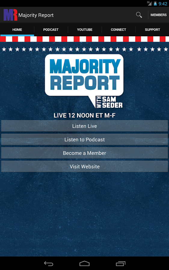 Majority Report- screenshot