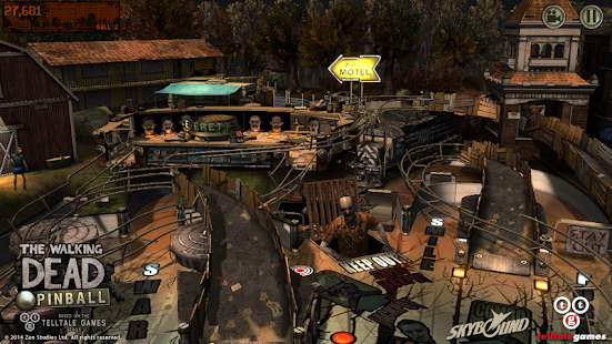The Walking Dead Pinball - screenshot