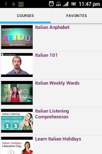 Italian Conversation Courses - náhled