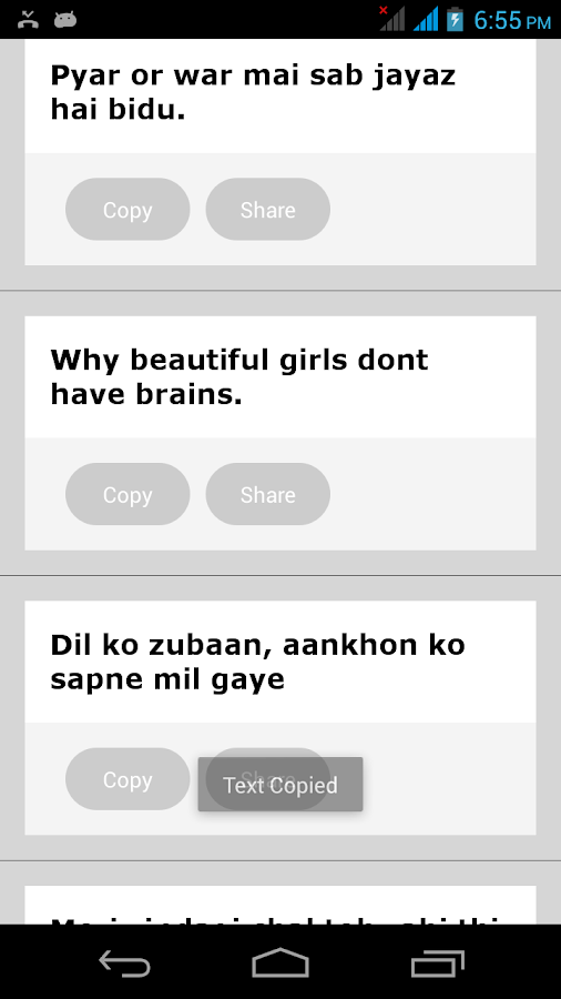 One Liner English Hindi Status - Android Apps on Google Play