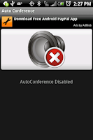Screenshot of AutoConference