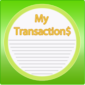 My Transactions Income Expense