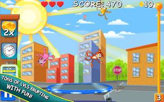 Screenshot of Bouncing Pets