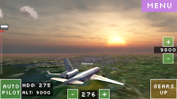 Screenshot of Flight World Simulator