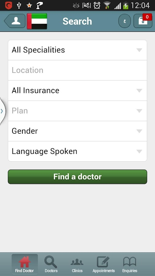 DoctorUna - Book a Doctor Now! - screenshot