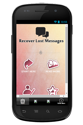 Recover Lost Messages Info