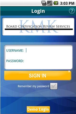 KMK Board Certification Review