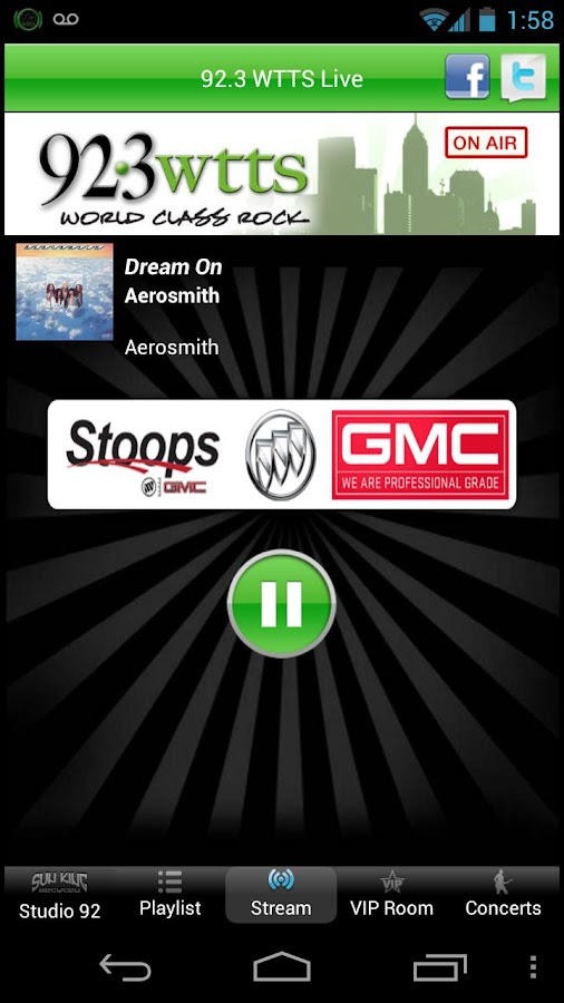 92.3 WTTS - screenshot