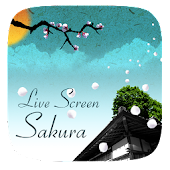 (SALE) Sakura Flying Effect