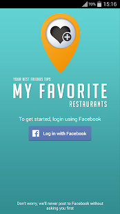Free My Favorite Restaurants APK for Android