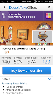 DoubleTakeDeals: Deals+Coupons - screenshot thumbnail