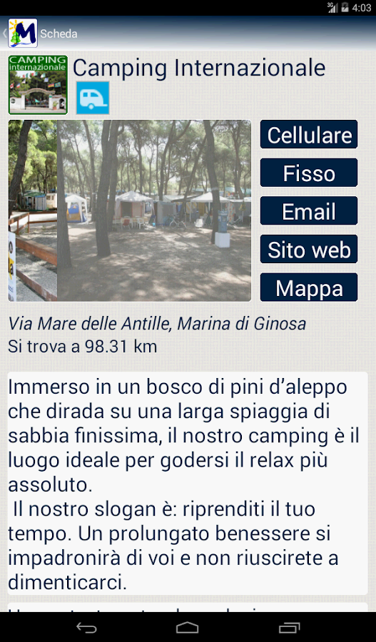 Marina di Ginosa Pocket- screenshot