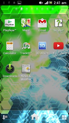 Hexscreen : 3D Live Wallpaper