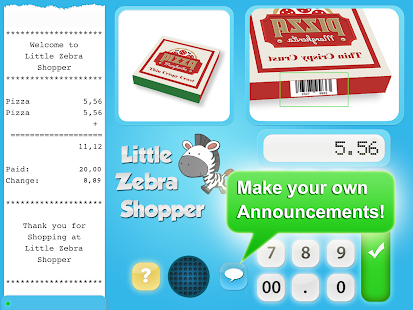 Little Zebra Shopper Free- screenshot thumbnail