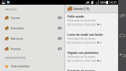 玩免費程式庫與試用程式APP|下載Recetas de cocina faciles app不用錢|硬是要APP
