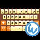 OrangeSharbet keyboard image icon