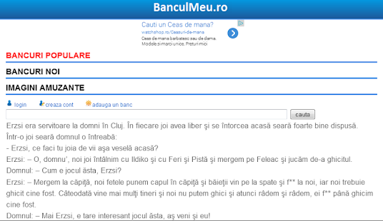 Bancuri Mioritice - screenshot thumbnail