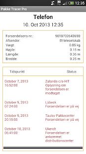 Pakke Tracer Pro- screenshot thumbnail