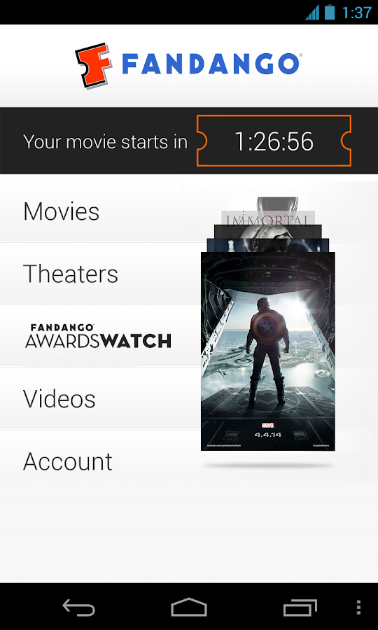 Fandango Movies - screenshot