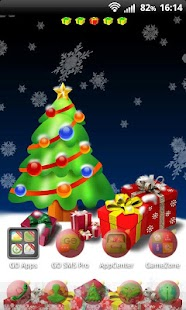 Christmas Tree for GO SMS Pro- screenshot thumbnail