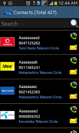 Mobile Number Tracker 1.7 screenshot 234789