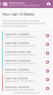 WooSales Mobile - WooCommerce- screenshot thumbnail