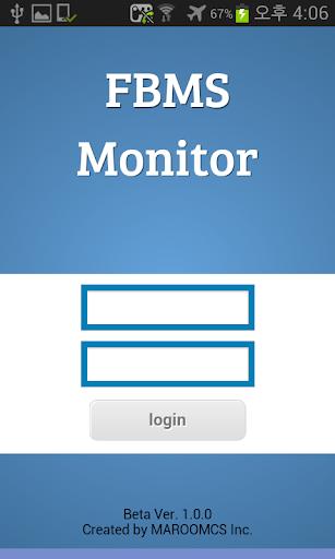 FBMS Monitor MAROOMCS