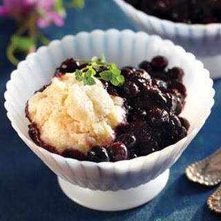 Blueberry Dumpling Dessert