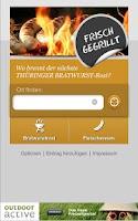 Screenshot of Bratwurst-App für Thüringen