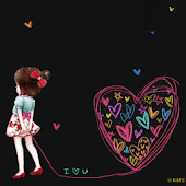 CUKI Theme LoveLove wallpaper