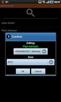 Screenshot of M4PhoneDial