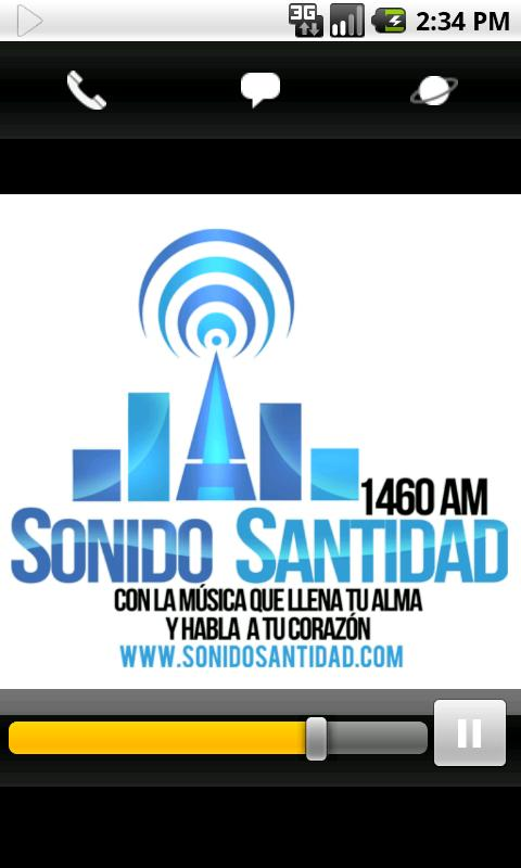 Sonido Santidad 1460 am - screenshot