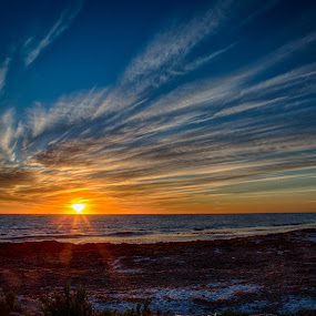 Sunset, Indian Ocean Style by Gary Tindale - Landscapes Sunsets & Sunrises ( perth, sunset, australia, wa, landscape, evening,  )