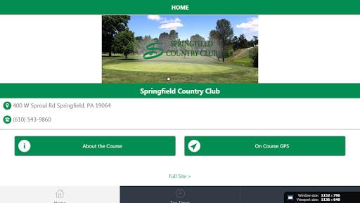 Springfield Township Golf|玩運動App免費|玩APPs