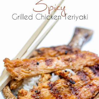 Spicy Grilled Teriyaki Chicken